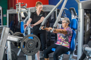 Cloncurry PCYC Gym, Exercise Prescription for specific health condition and client goals.